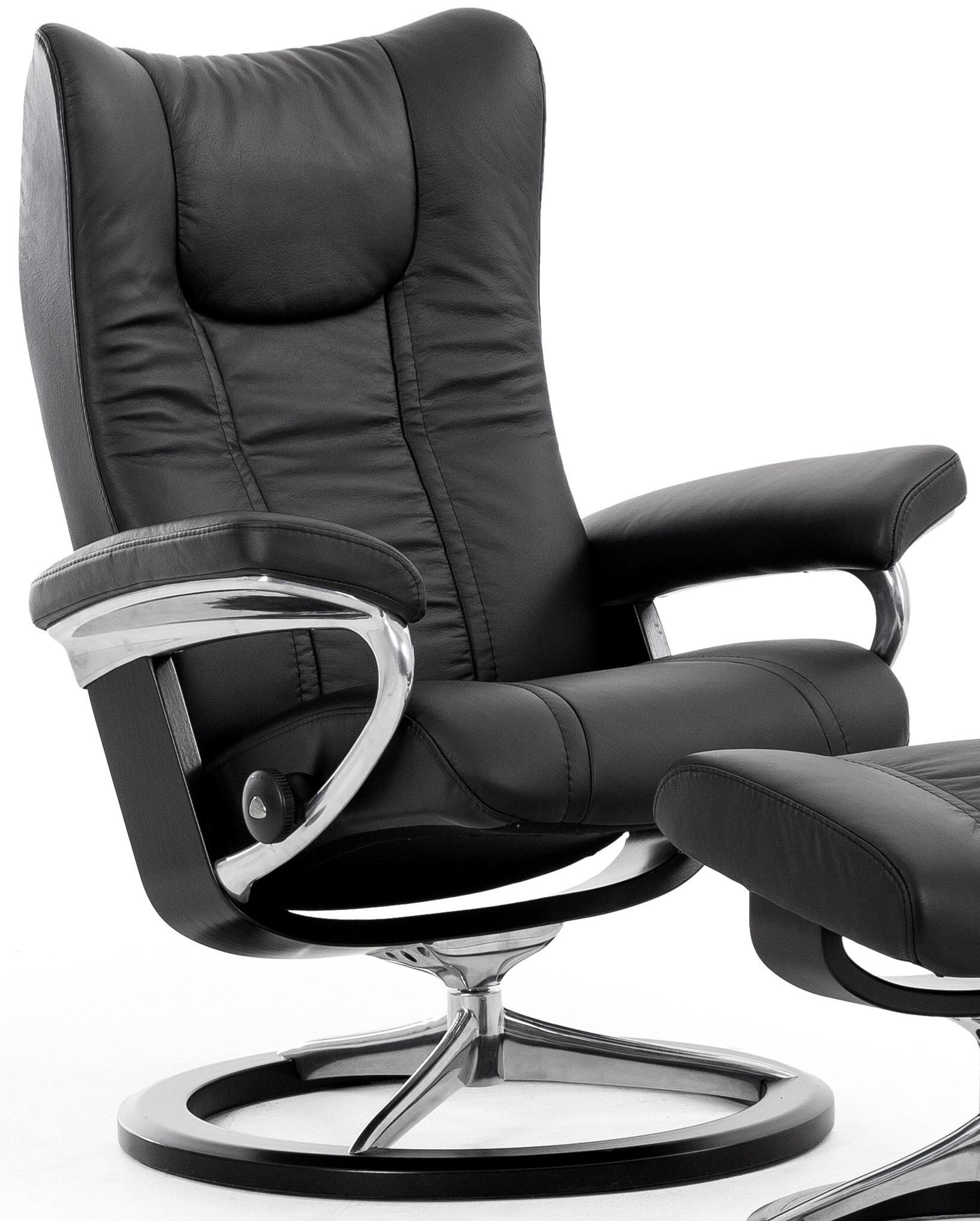 Large Reclining Chair with Signature Base
