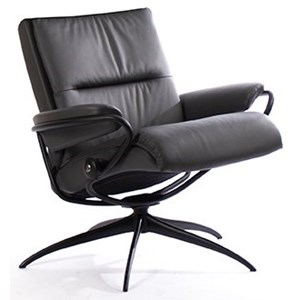 Low Back Chair with Star Base