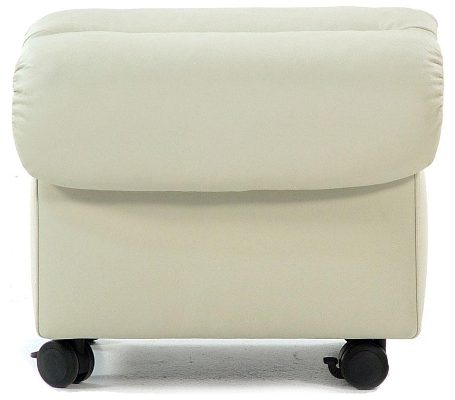 Stressless by Ekornes E300 Ergo Leather Ottoman - Item Number: E300 OTT
