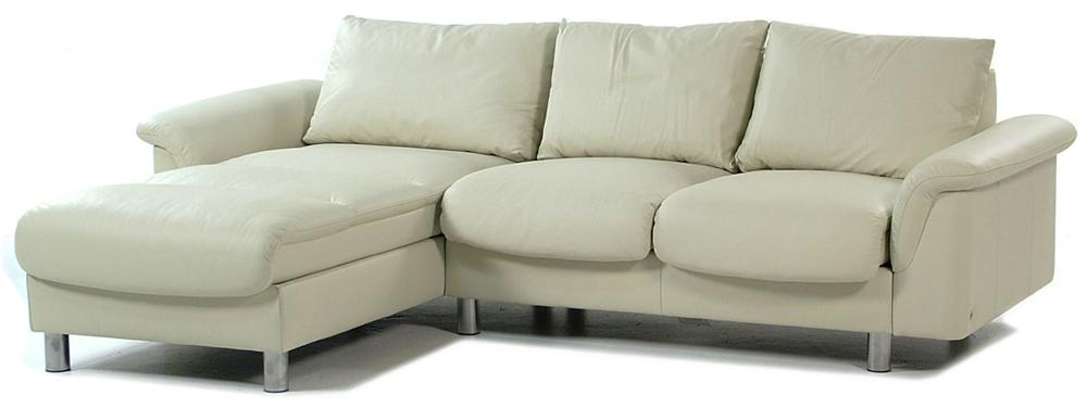 Stressless by Ekornes E300 Ergo Leather Reclining Sectional w/ Chaise - Item Number: E300 SECT