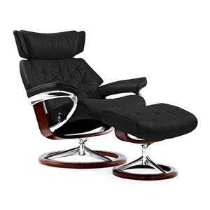 Stressless by Ekornes Stressless Recliners Skyline Medium Recliner & Ottoman
