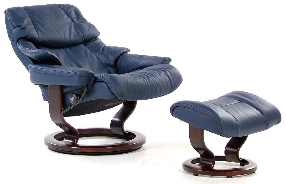 stressless by ekornes stressless recliners reno large recliner u0026 ottoman item number