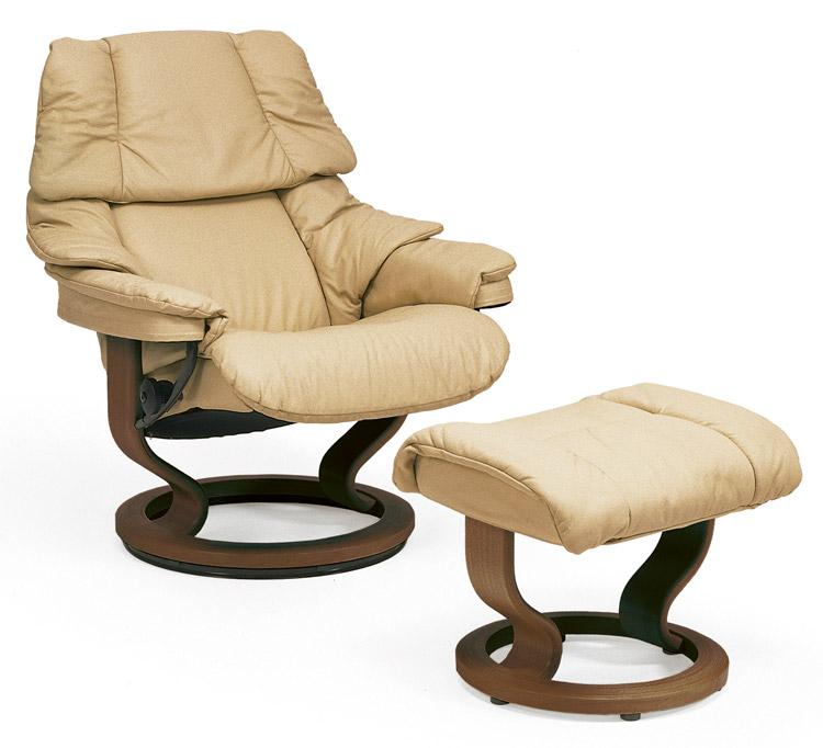 Stressless by Ekornes Stressless Recliners Reno Large Recliner u0026 Ottoman - Item Number 157190984  sc 1 st  Rotmans & Stressless by Ekornes Stressless Recliners Reno Large Recliner ... islam-shia.org