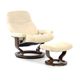 Stressless Consul Large Chair & Ottoman with Classic Base