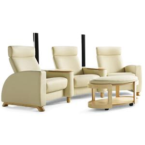 Stressless by Ekornes Arion Theater Sectional