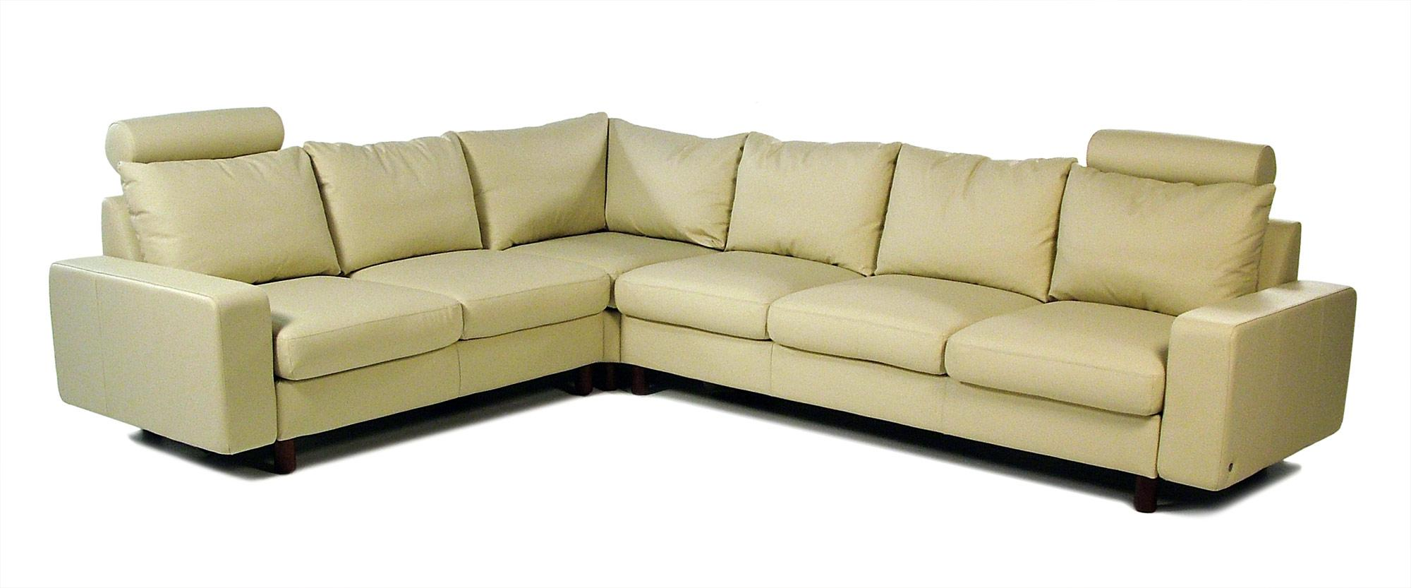 Contemporary Reclining Leather Sectional