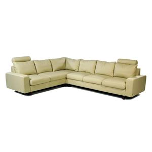 Stressless by Ekornes E200 Ergo Contemporary Reclining Leather Sectional