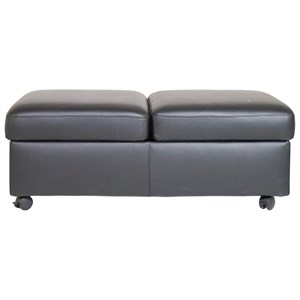 Stressless by Ekornes Stressless Accessories Double Ottoman and Table
