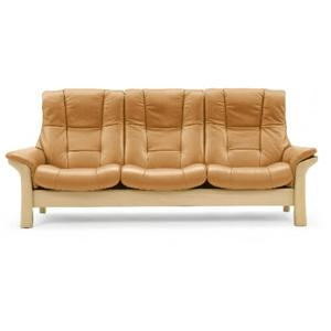 Stressless by Ekornes Stressless Buckingham High-back Reclining Sofa