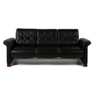Stressless by Ekornes Stressless Metropolitan Contemporary 3-Seat Sofa