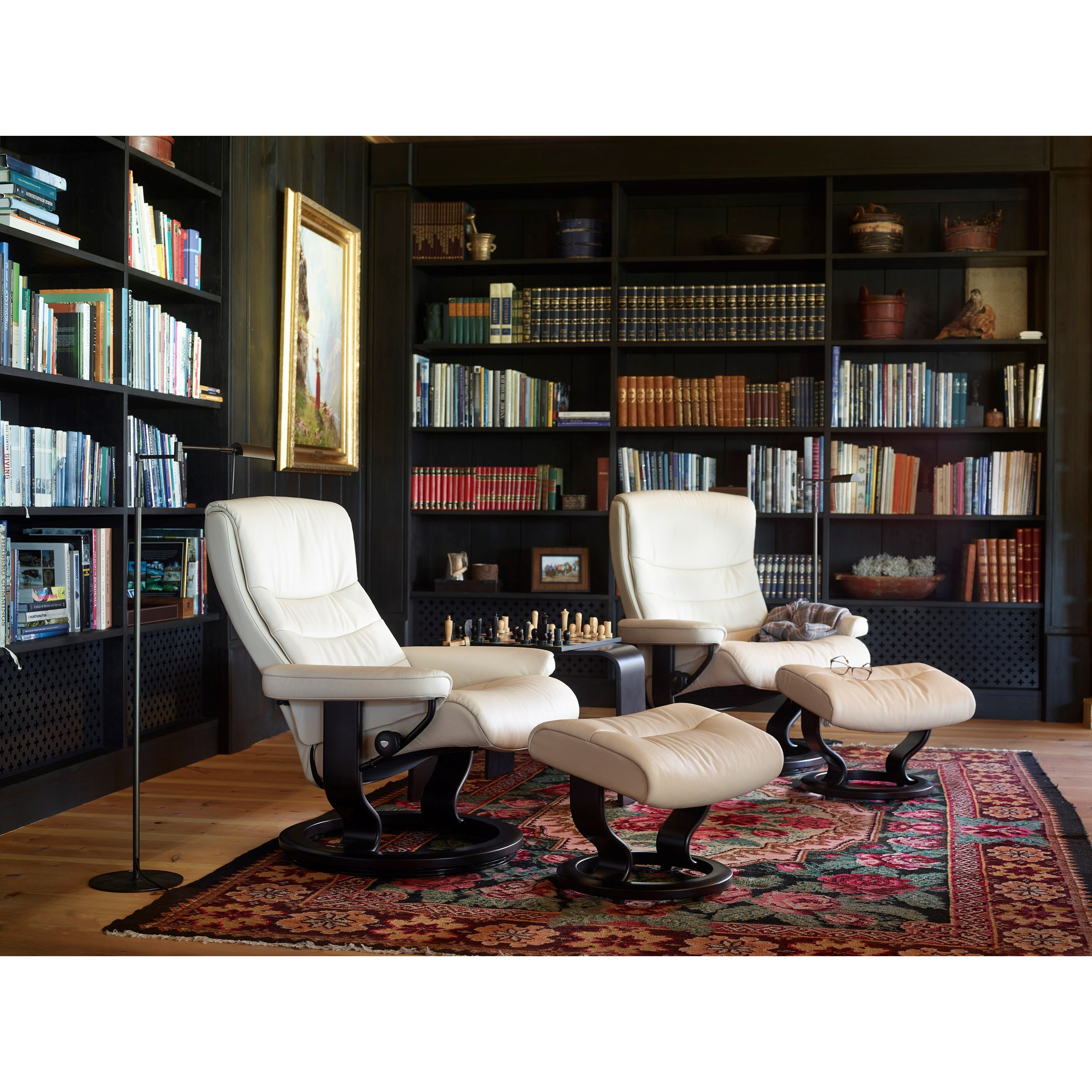 stressless nordic classic chair leather recliner chairs. Black Bedroom Furniture Sets. Home Design Ideas