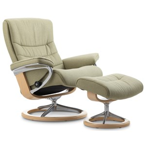 Stressless by Ekornes Stressless Nordic Medium Signature Chair