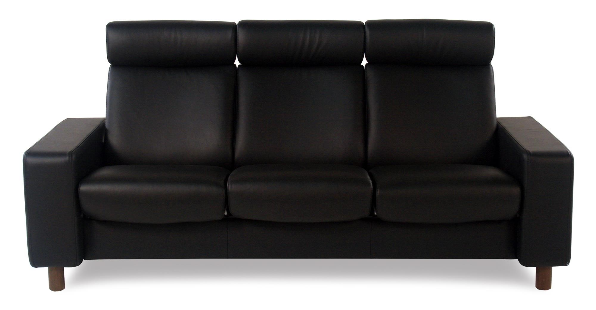 Stressless by Ekornes Stressless Pause 3 Seat High Back Sofa