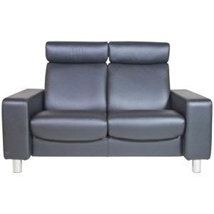 Stressless by Ekornes Stressless Pause 2 Seat High Back Loveseat