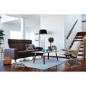 Stressless by Ekornes Stressless Pause 3 Seat High Back Sofa with Flat Track Arms