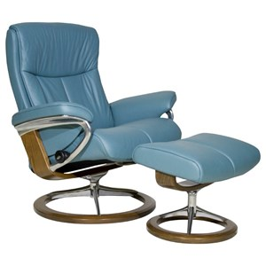 Stressless by Ekornes Peace Large Stressless Chair & Ottoman