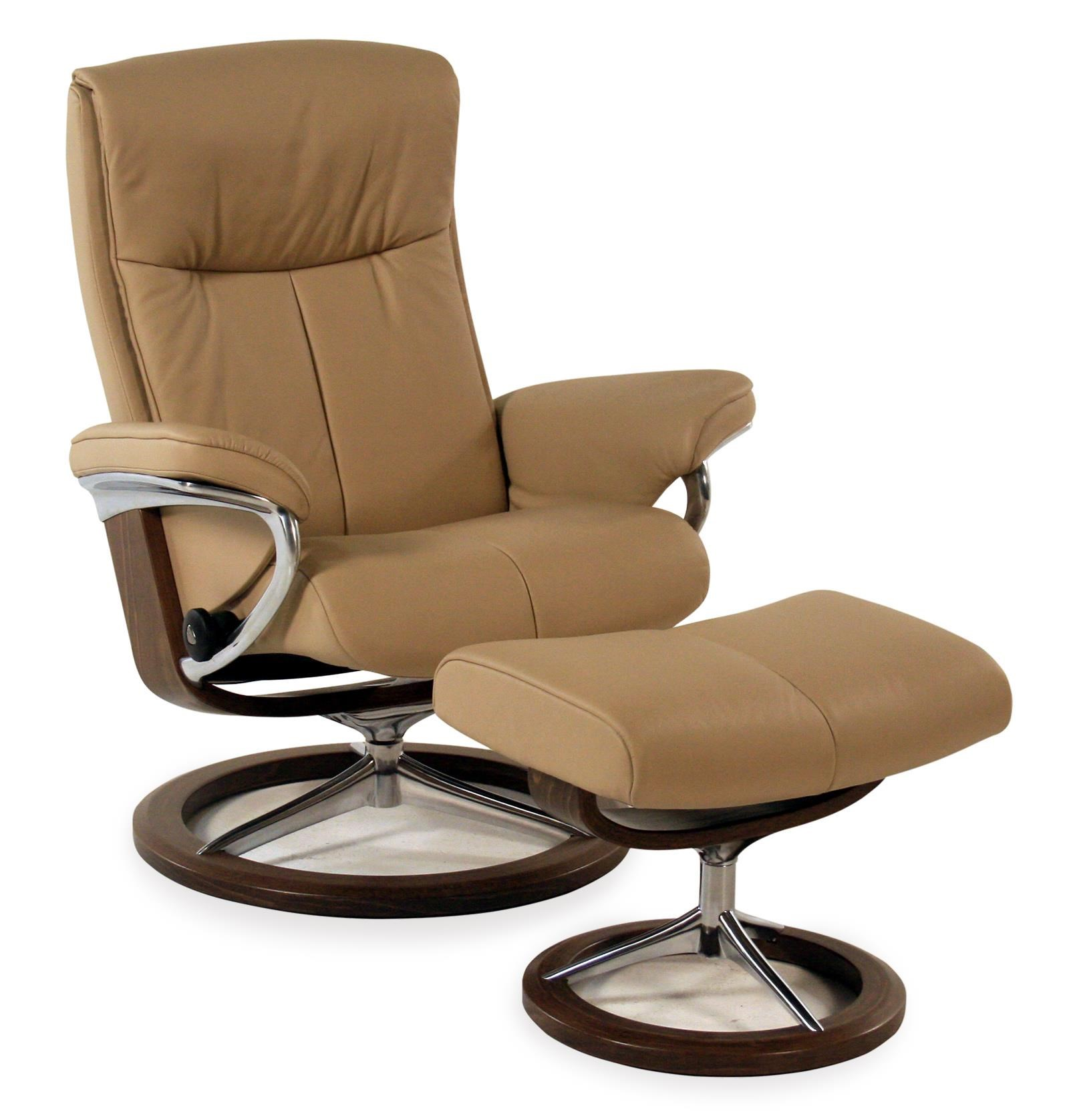 Medium Signature Chair & Ottoman