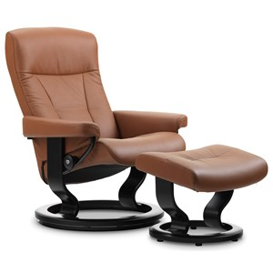 Stressless by Ekornes Stressless President Large Classic Chair