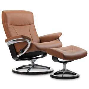 Stressless by Ekornes Stressless President Small Signature Chair