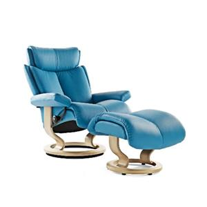 Stressless by Ekornes Stressless Recliners Magic Medium Recliner and Ottoman  sc 1 st  Sprintz Furniture & Chair and Ottoman | Nashville Franklin and Greater Tennessee ... islam-shia.org