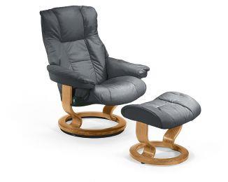 Mayfair Small Stressless Chair & Ottoman