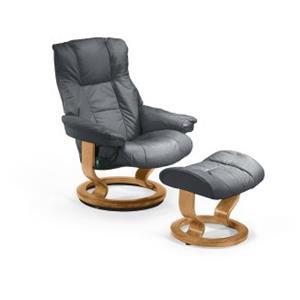 Stressless by Ekornes   Mayfair Small Stressless Chair & Ottoman