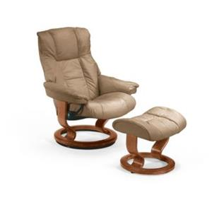 Stressless by Ekornes   Mayfair Small Stressless Chair & Ottoman