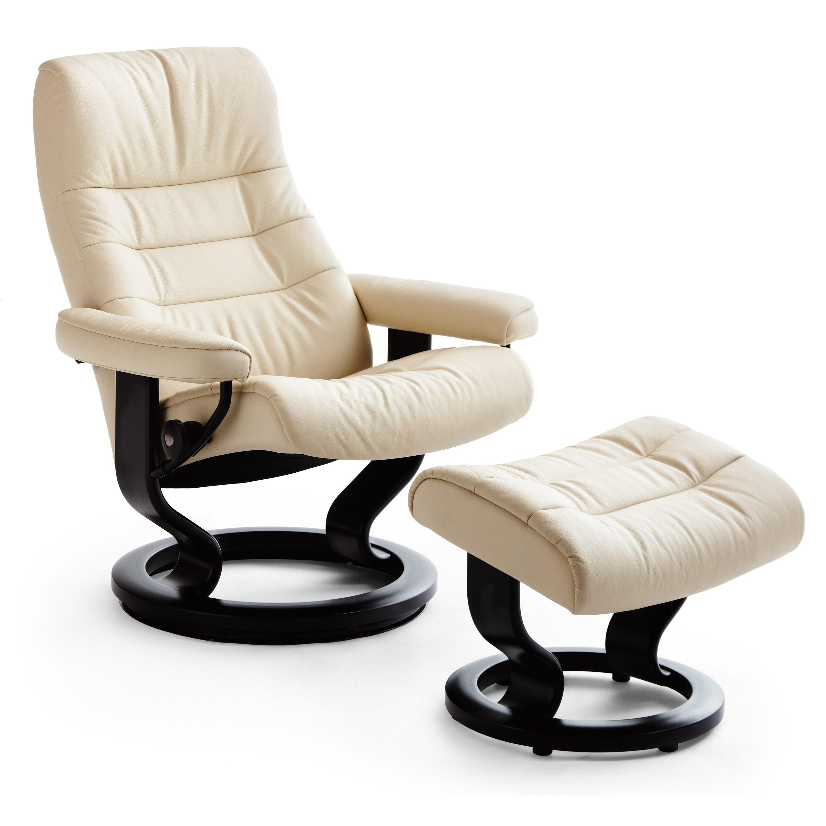 Opal Medium Opal Classic Chair by Stressless at Baer's Furniture