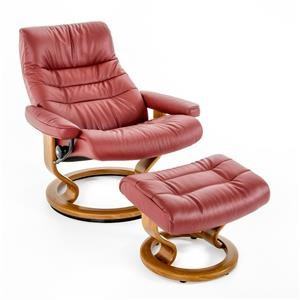 Stressless by Ekornes Stressless Recliners Large Opal Classic Chair