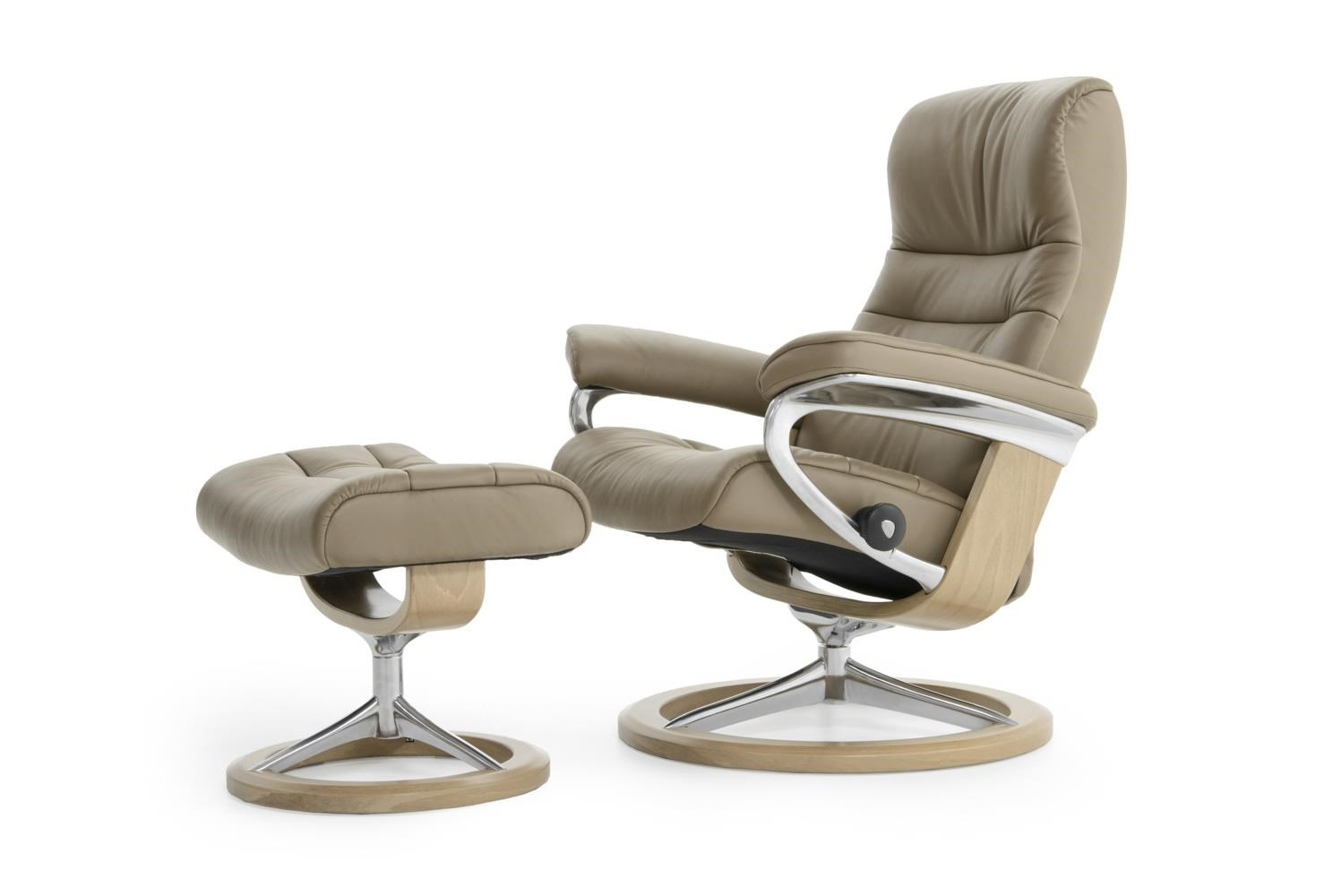 Stressless By Ekornes Stressless Recliners 1255315 Top Base Pal Funghi Medium Opal Signature
