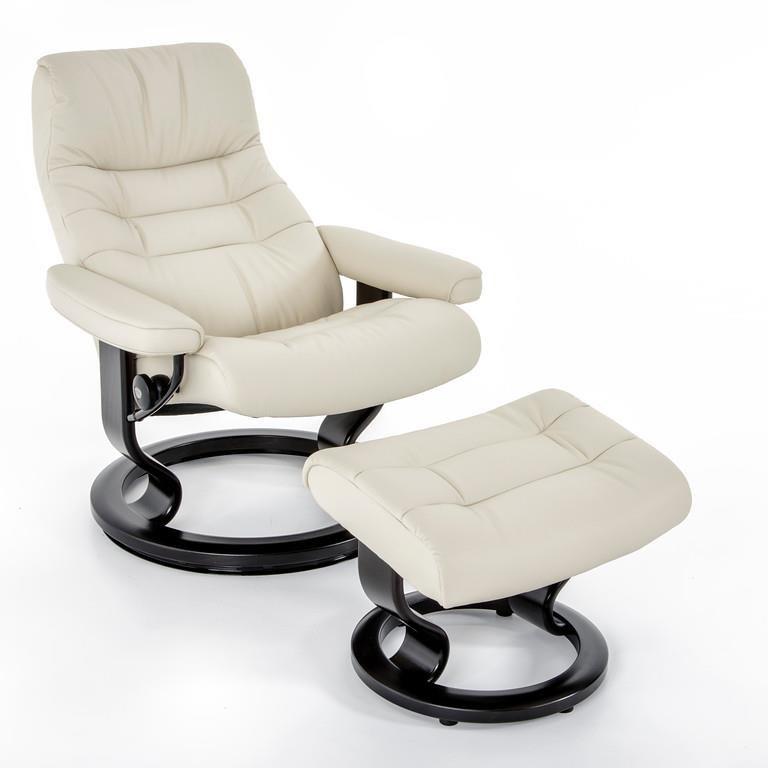 Stressless By Ekornes Stressless Recliners 1255415 Pal Lt Grat15 Medium Opal Classic Chair