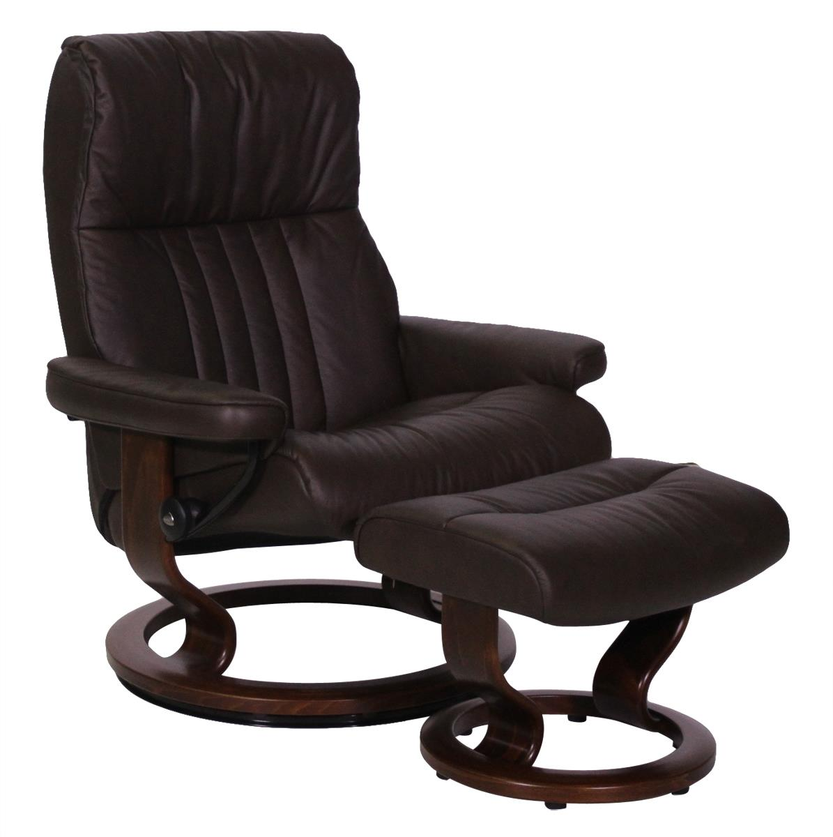 Large Stressless Chair and Ottoman
