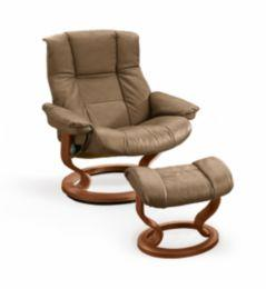 Stressless by Ekornes   Mayfair Large Stressless Chair & Ottoman