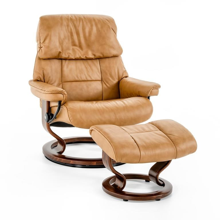 Stressless by Ekornes Stressless Ruby Large Classic Chair - Item Number: 1258415 PALOMA TAUPE BRN