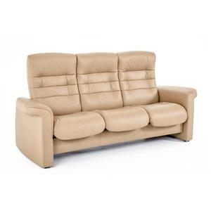 Stressless by Ekornes Stressless Sapphire 2 Pc High Back Reclining Sofa