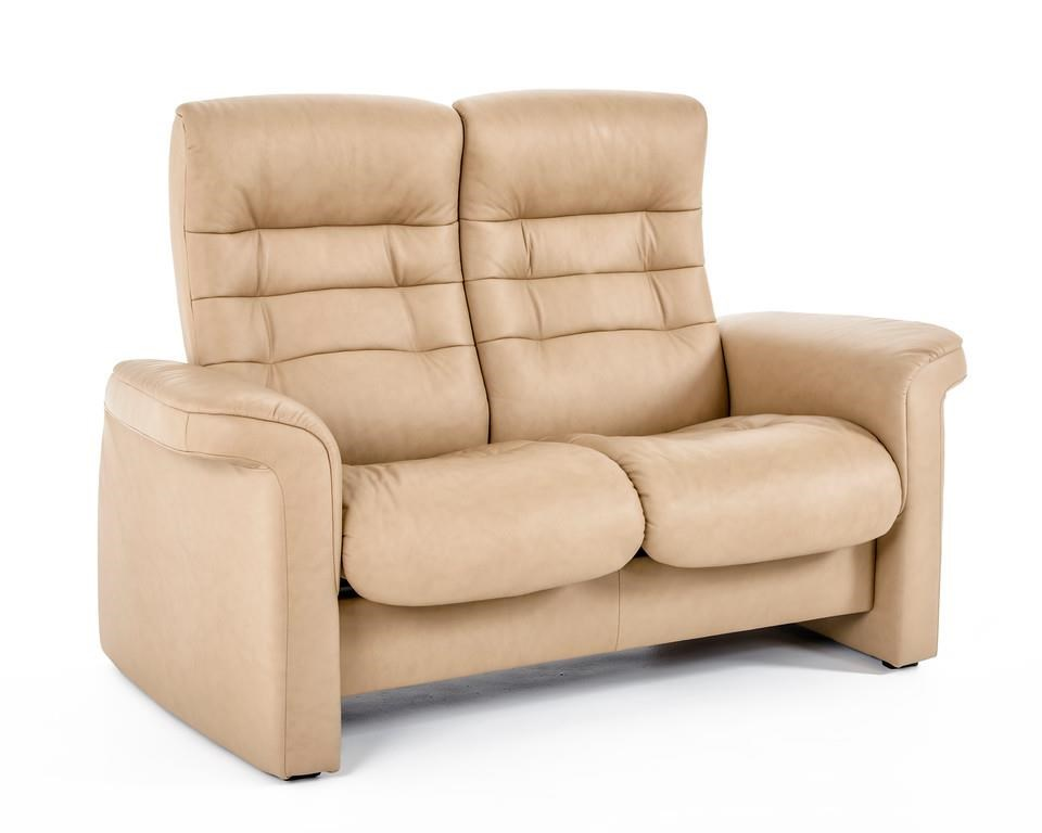 Stressless By Ekornes Stressless Sapphire 1267024 1266007 Paloma Sand Brn Two Piece Low Back
