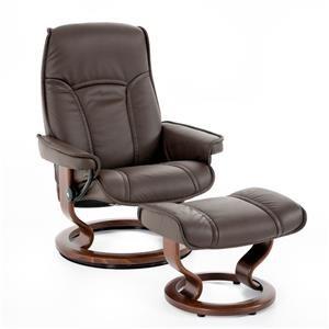 Stressless by Ekornes Stressless Senator Medium Classic Chair