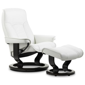 Stressless by Ekornes Stressless Senator Small Classic Chair