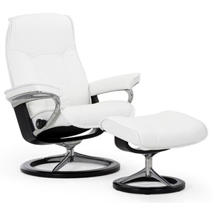 Stressless by Ekornes Stressless Senator Small Signature Chair
