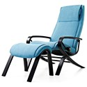 Stressless by Ekornes Stressless You James Reclining Chair and Ottoman - Item Number: YOU-JAMES-WOOD-Karma Aqua
