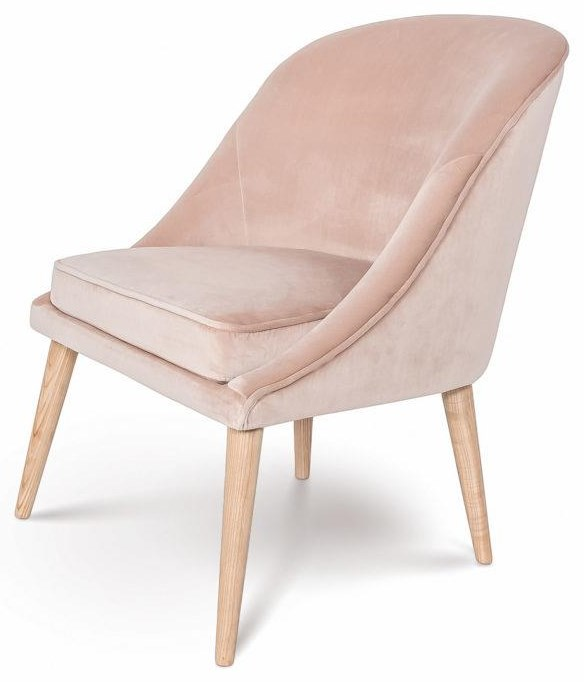 BRE Bree Coral Chair by Style In Form at Stoney Creek Furniture