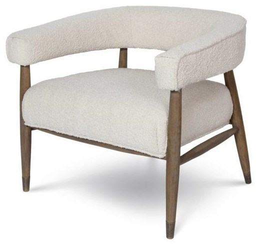 Eve Everest Cream Chair by Style In Form at Stoney Creek Furniture