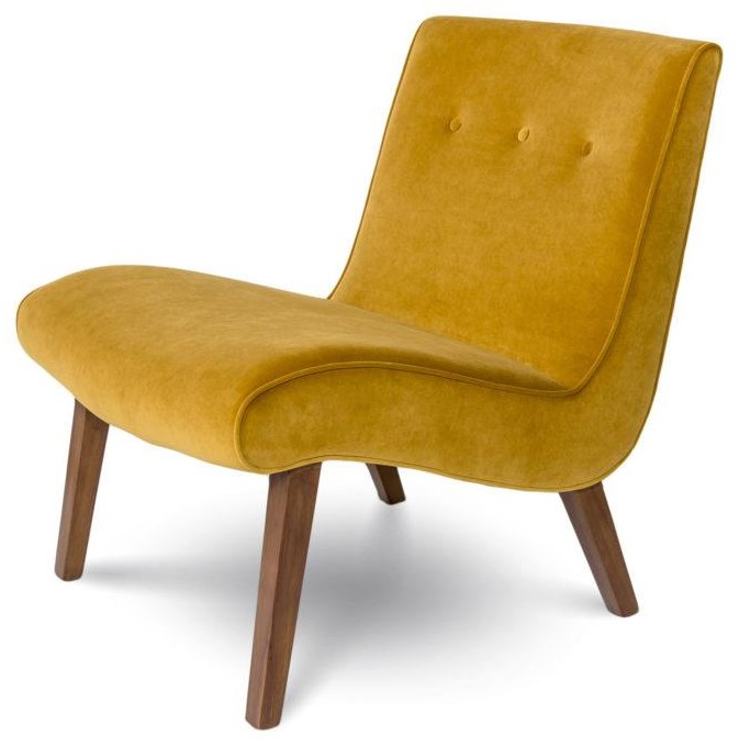 Fif Fifi Mustard Chair by Style In Form at Stoney Creek Furniture