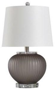2020 LAMPS Grey Smoke Lamp by StyleCraft at Furniture Fair - North Carolina
