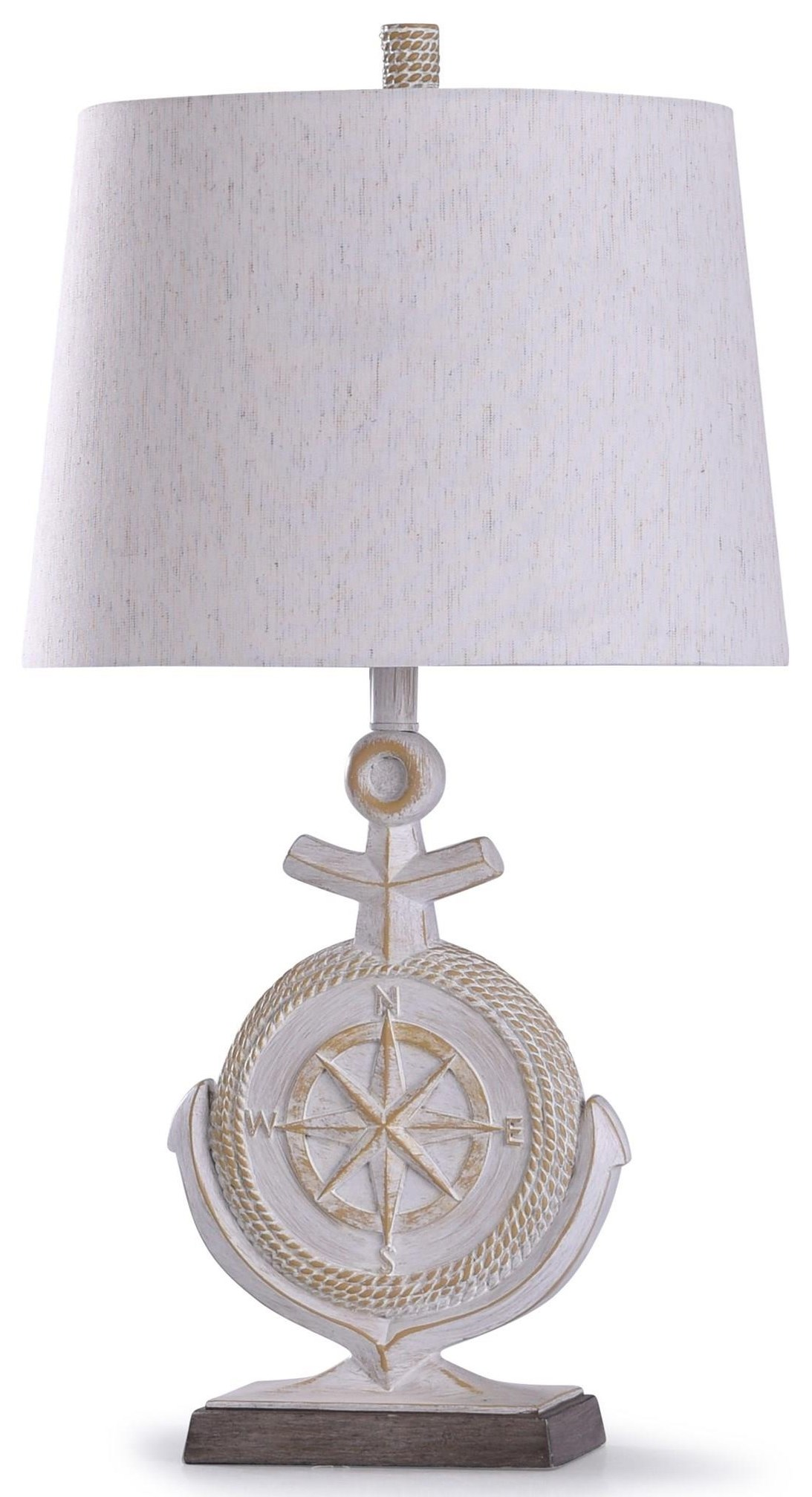 2020 LAMPS Anchor Lamp by StyleCraft at Furniture Fair - North Carolina