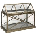 StyleCraft Accessories Brass Mini Greenhouse - Item Number: AC51132