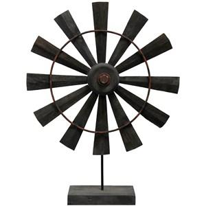 Coffee Windmill Wooden Sculpture