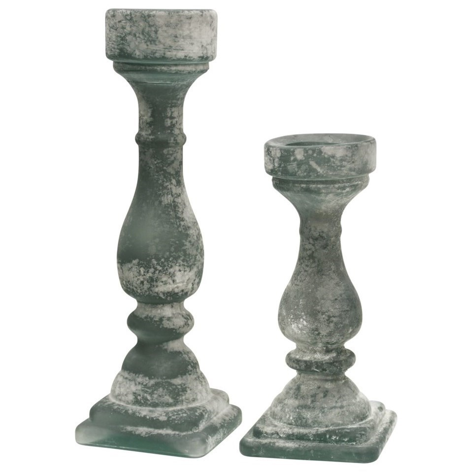 StyleCraft Accessories Set of Two Candle Holders - Item Number: AS10140