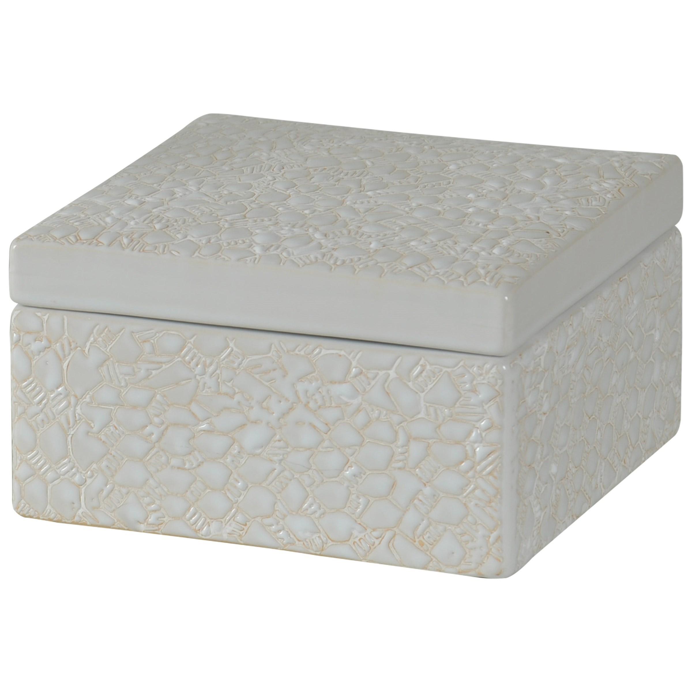 Square Stoneware Box