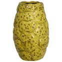 StyleCraft Accessories Small Yellow Vase - Item Number: HFA11304